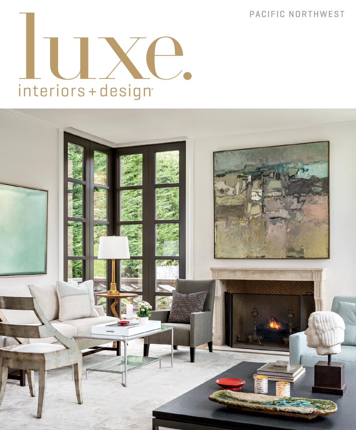 Luxe magazine spring 2015 pacific northwest by sandow issuu for Luxe furniture and design