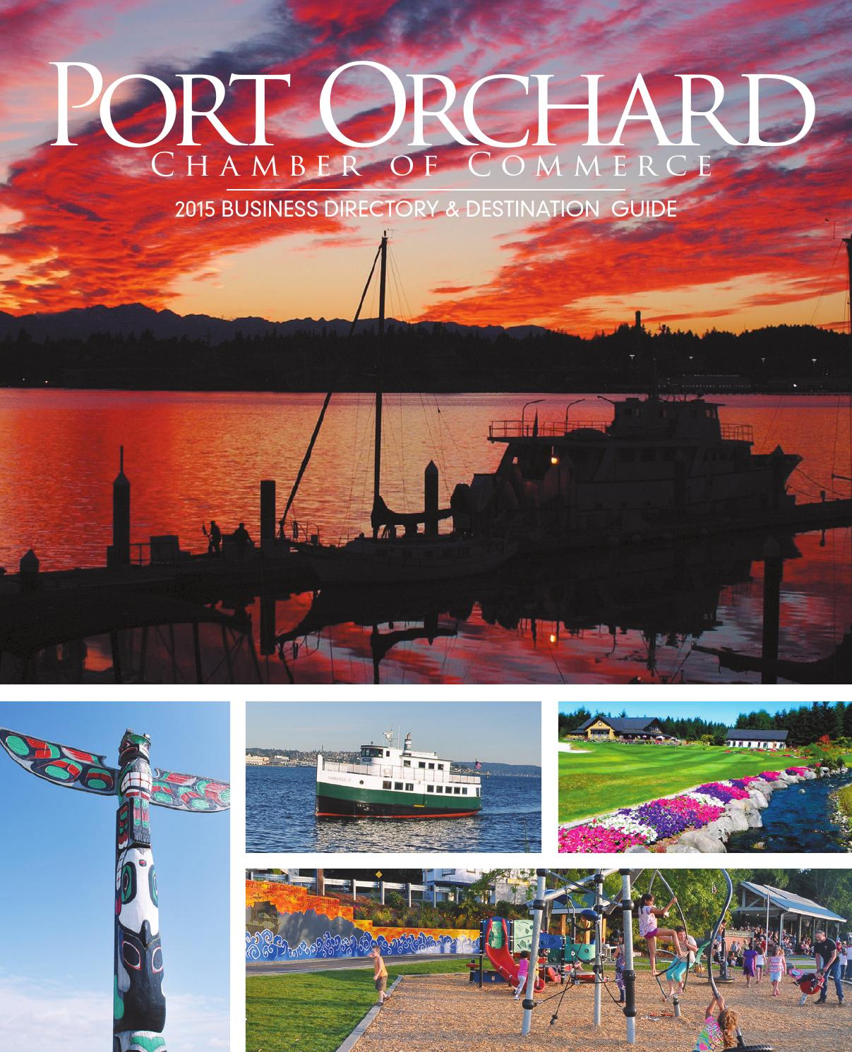 Roba Family Orchard Home: Port Orchard Chamber 2015 By Sound