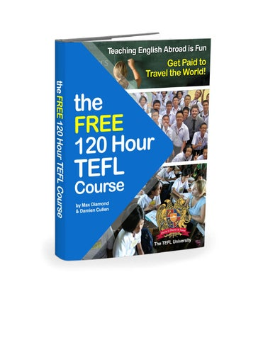 how to get free tefl certificate