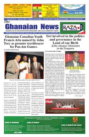 Ghanaian News March 2015 By Razak Ray Axe Banks Issuu