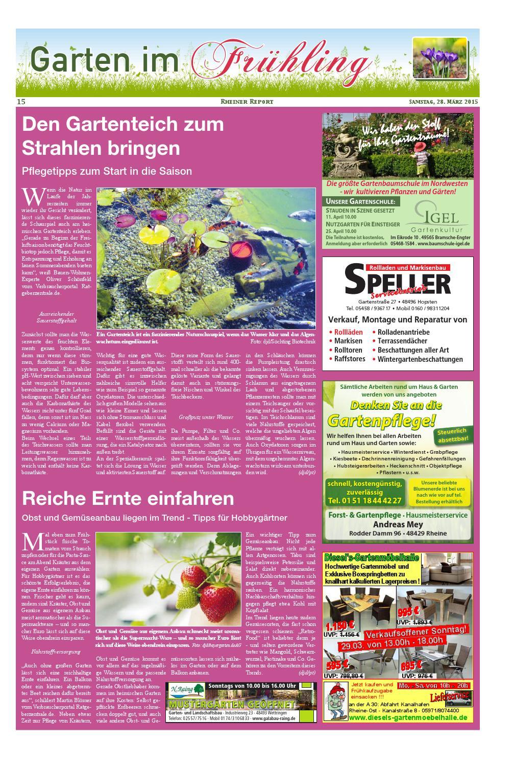 Kw13 2015 By Rheiner Report Gmbh Issuu