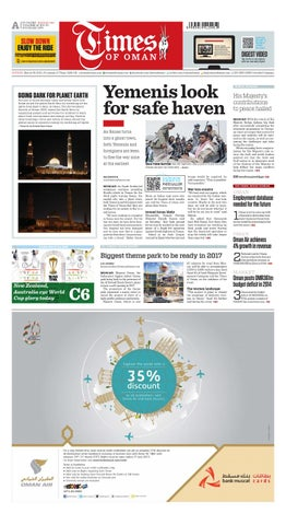 Times Of Oman - March 29, 2015 by Muscat Media Group - issuu