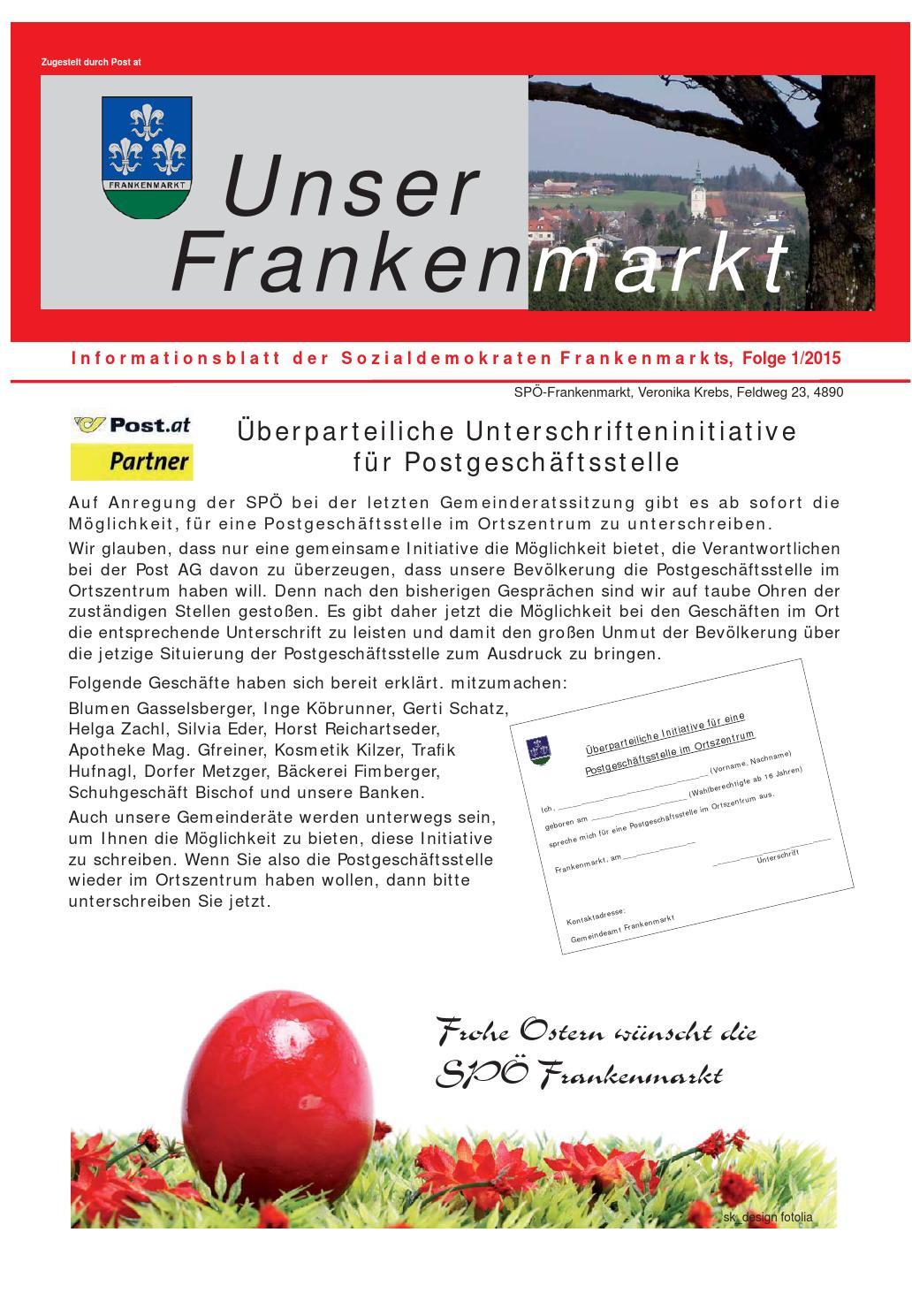 Beste singlebrse frankenmarkt. Single treff aus grafenstein