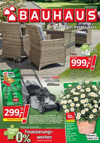 bauhaus angebote 30marz 25april2015 by issuu. Black Bedroom Furniture Sets. Home Design Ideas