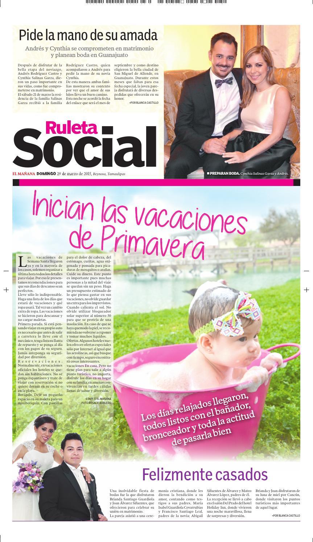 Ruleta Social 2015/03/29 by EL MAÑANA REYNOSA - issuu