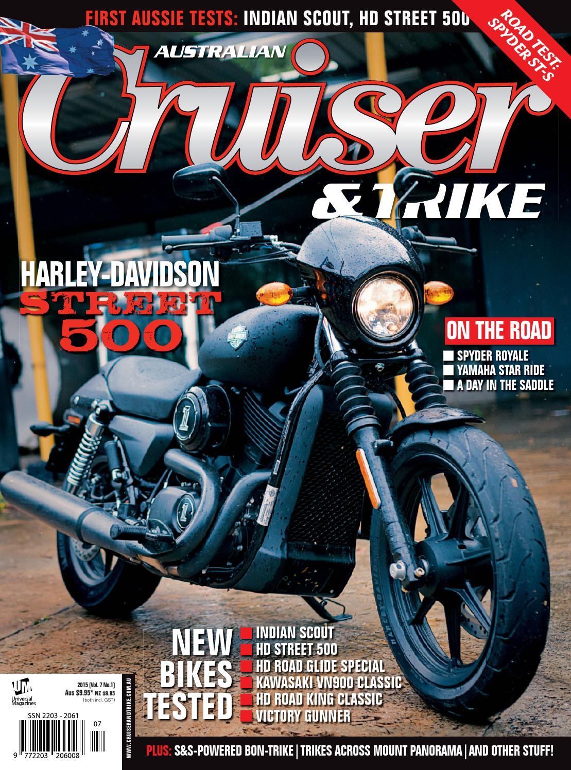 Issue#7 1 Mar 2015 by Cruiser & Trike - issuu