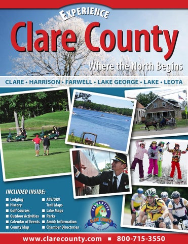 Official Clare County Vacation & Business Guide 2015 on