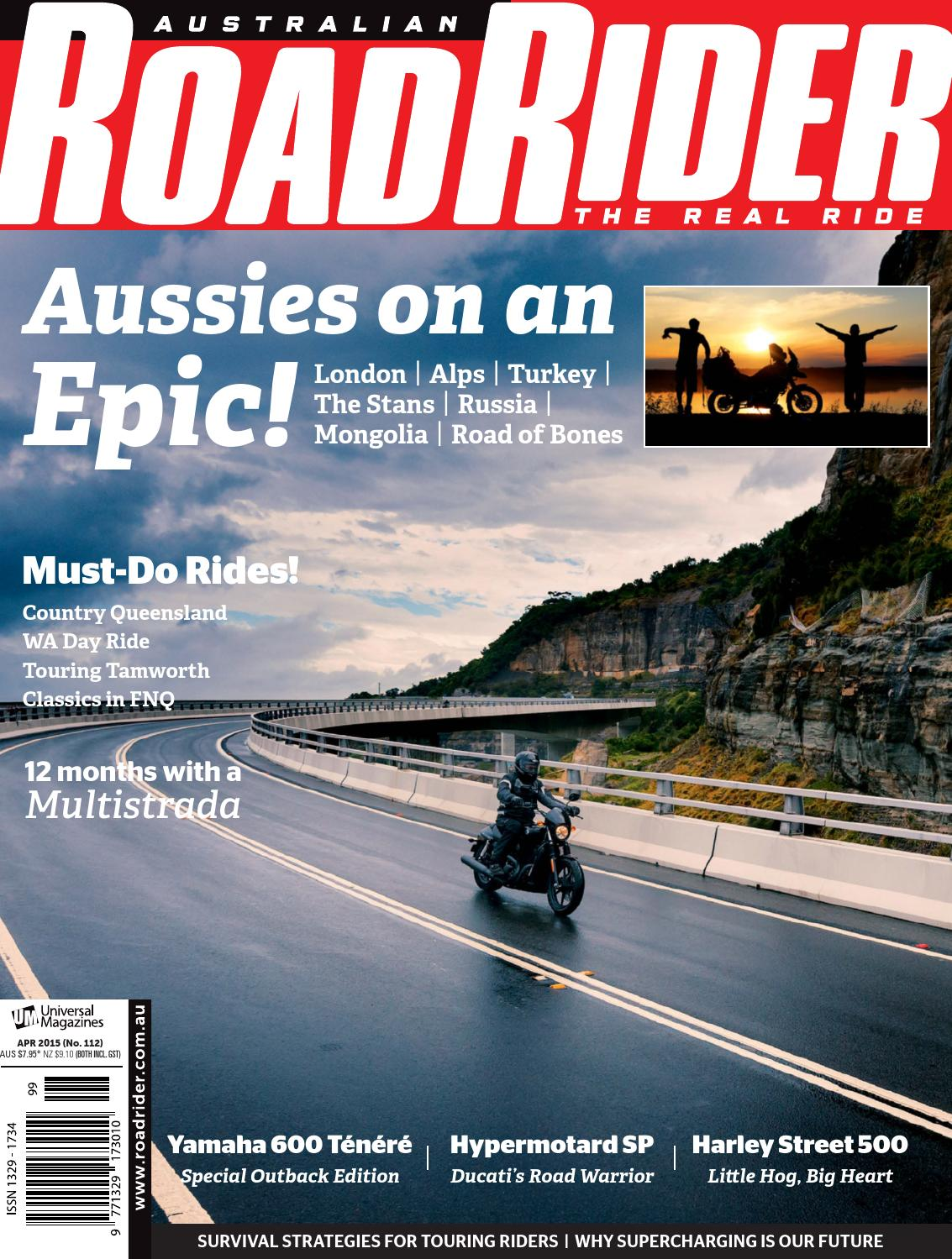 Issue#112 Apr 2015 By Australian Road Rider Official   Issuu
