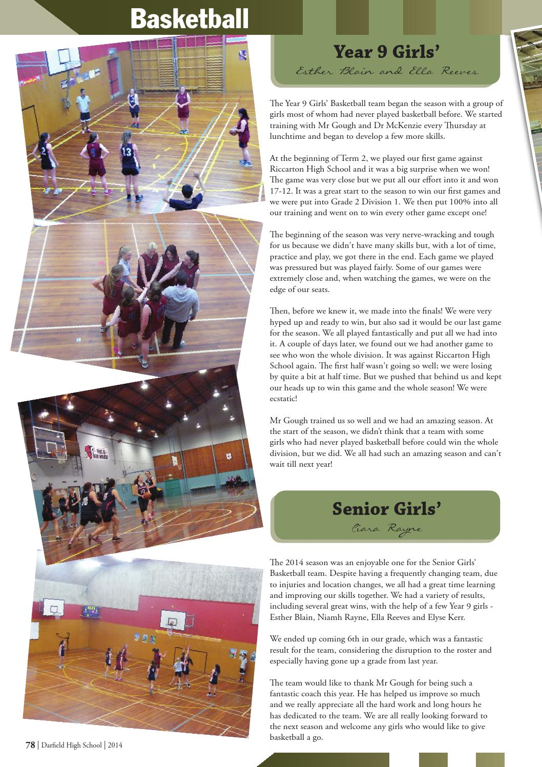 2014 Darfield High School Magazine by Darfield High School