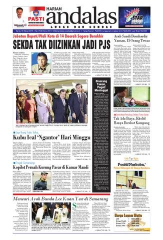 Epaper andalas edisi senin 30 maret 2015 by media andalas - issuu aafe4b41e4