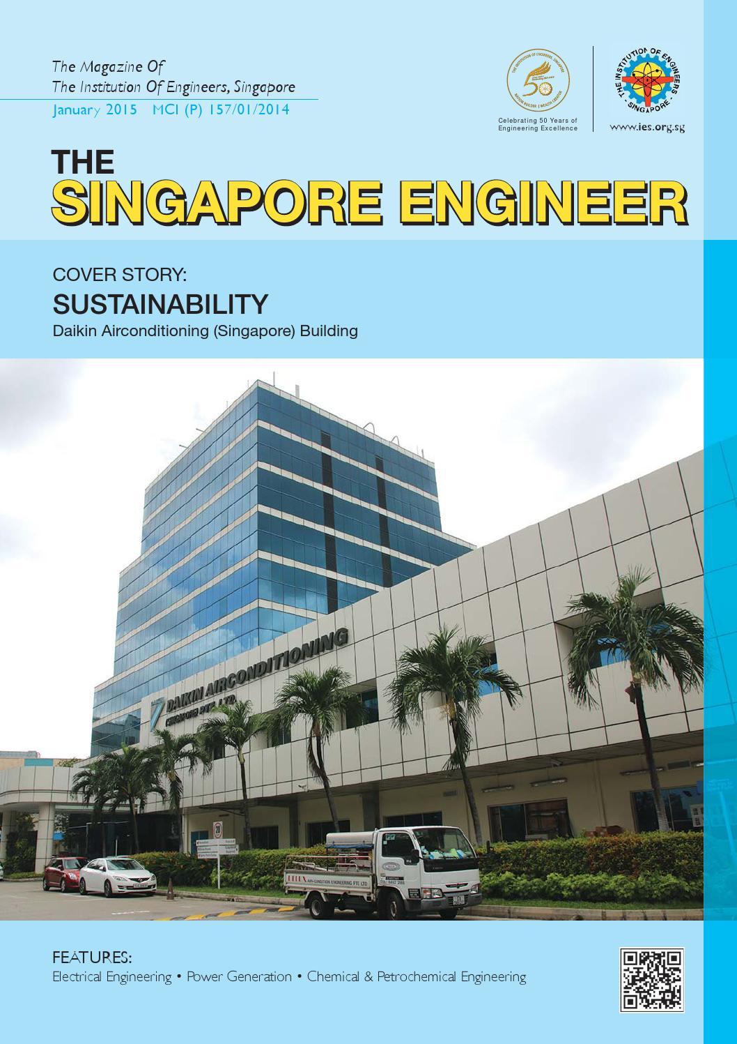 The Singapore Engineer January 2015 by The Singapore Engineer - issuu