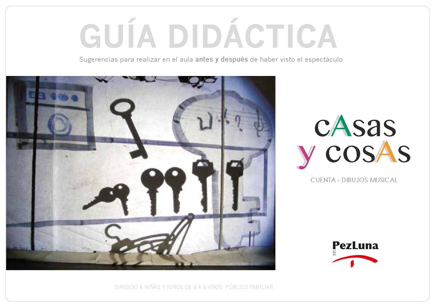 Gu a did ctica casas y cosas pez luna teatro by desde la for Casas y cosas
