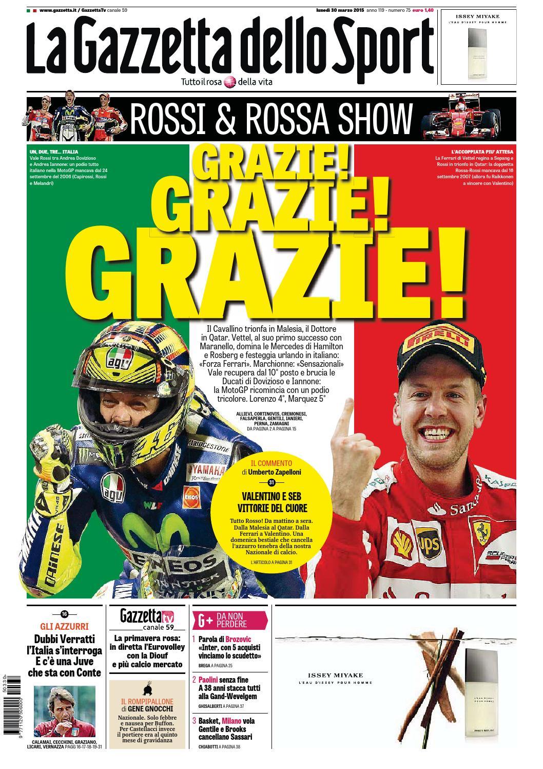 La Gazzetta dello Sport (03-30-2015) by Nguyen Duc Thinh - issuu dfdcb7f472bc3