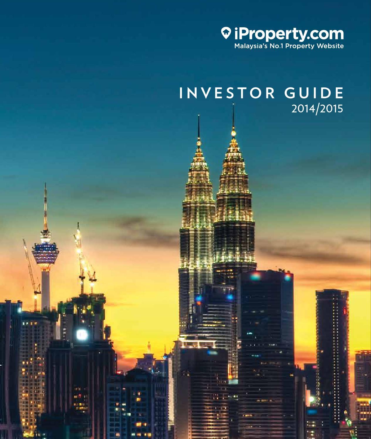 Ipropertycom Malaysia Investor Guide 2014 2015 By Issuu Cat Emas Pinang Padi