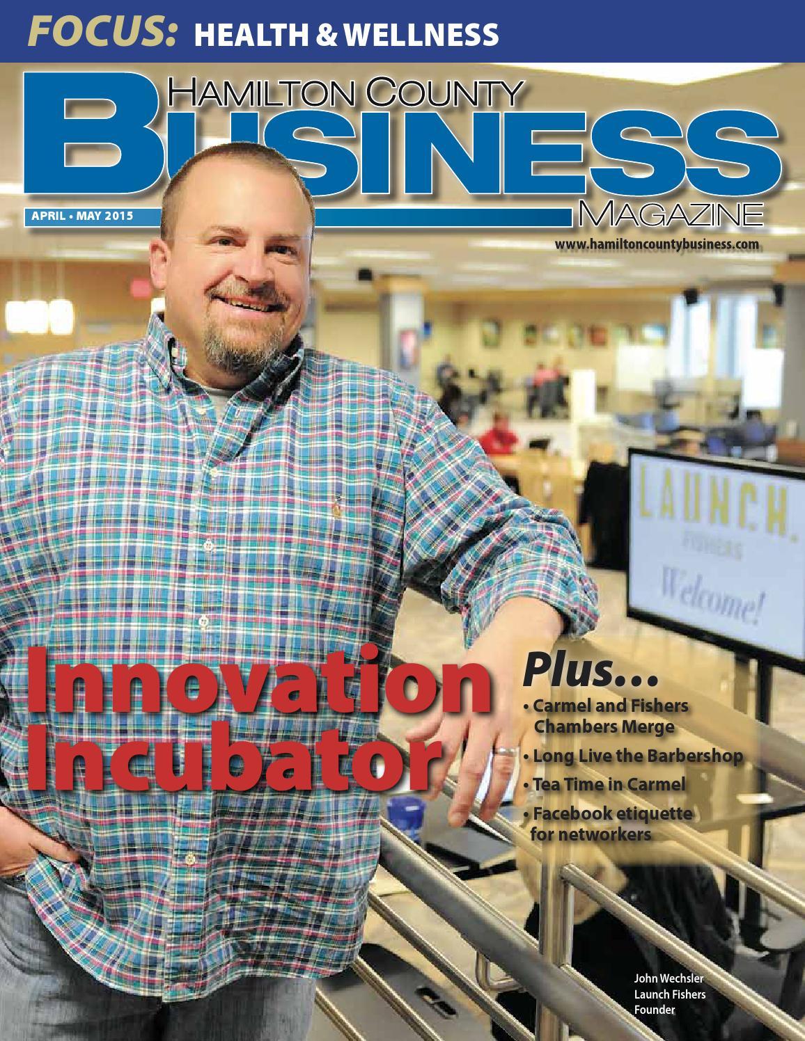 hamilton county business magazine april may 2015 by mike corbett