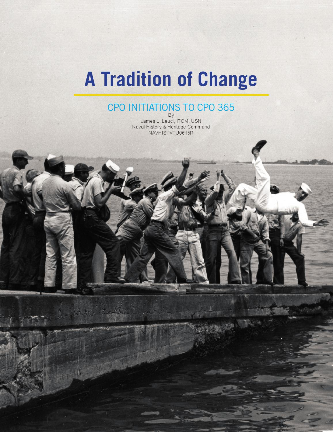 6985df21 A Tradition of Change: CPO Initiations to CPO 365 by Naval ...