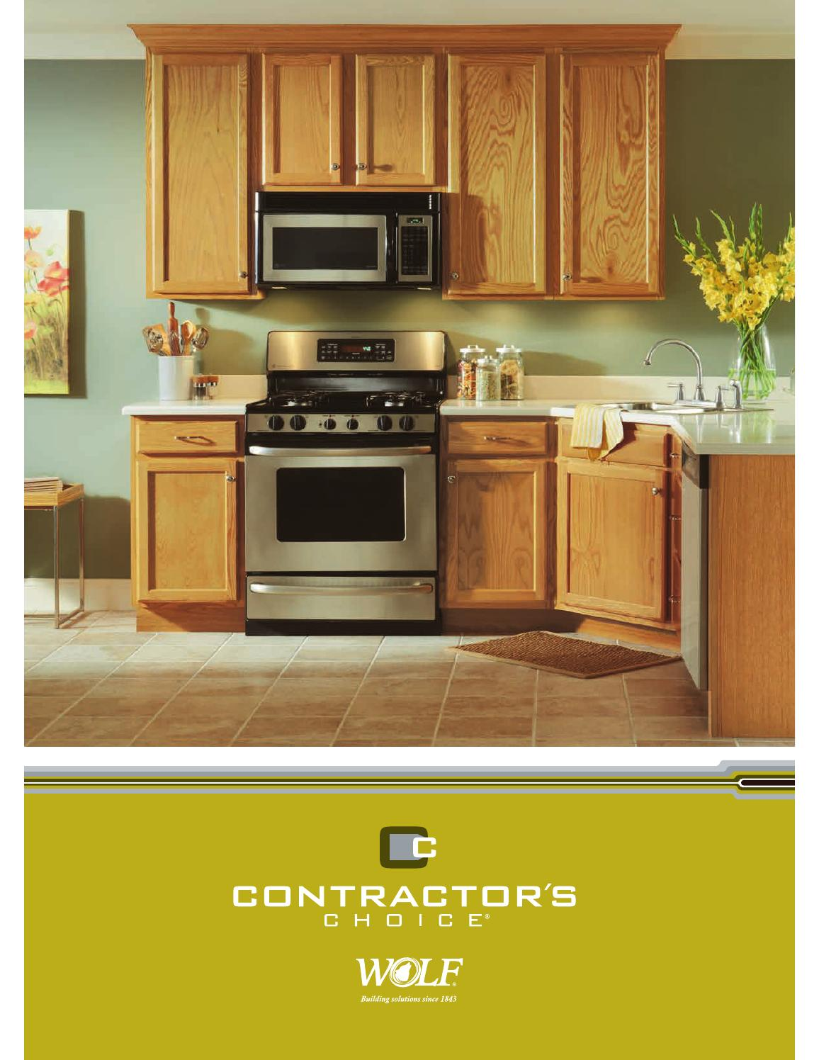 Contractoru0027s Choice Brochure   4 2015 By WOLF   Issuu