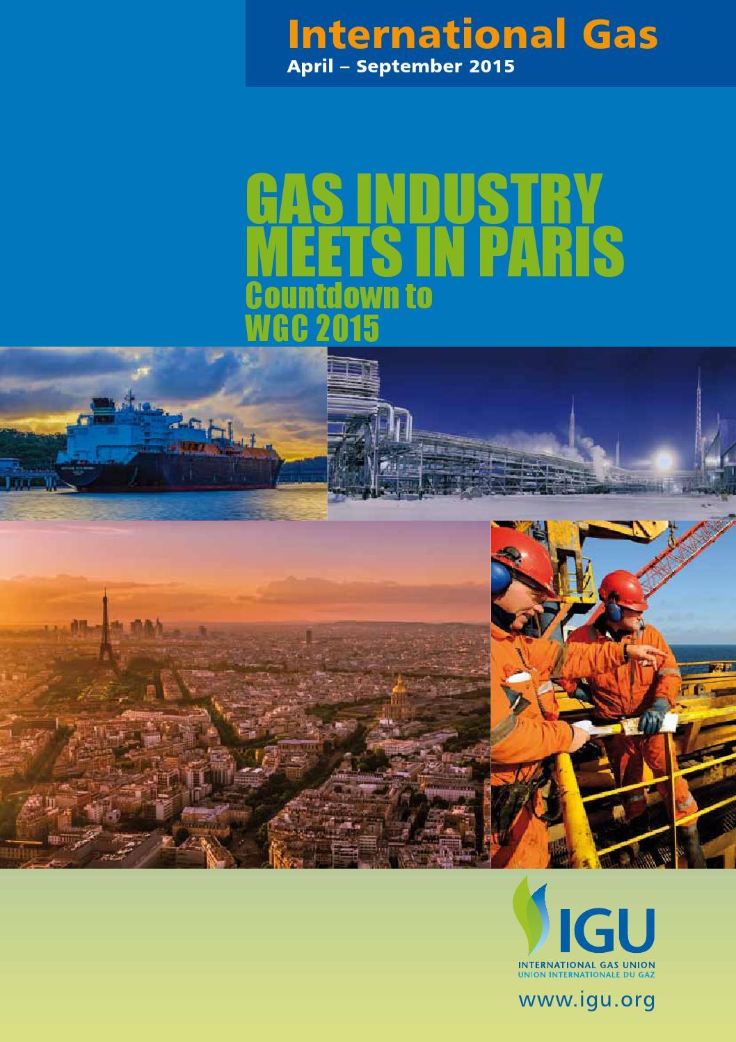 International Gas 2015 - Spring Edition