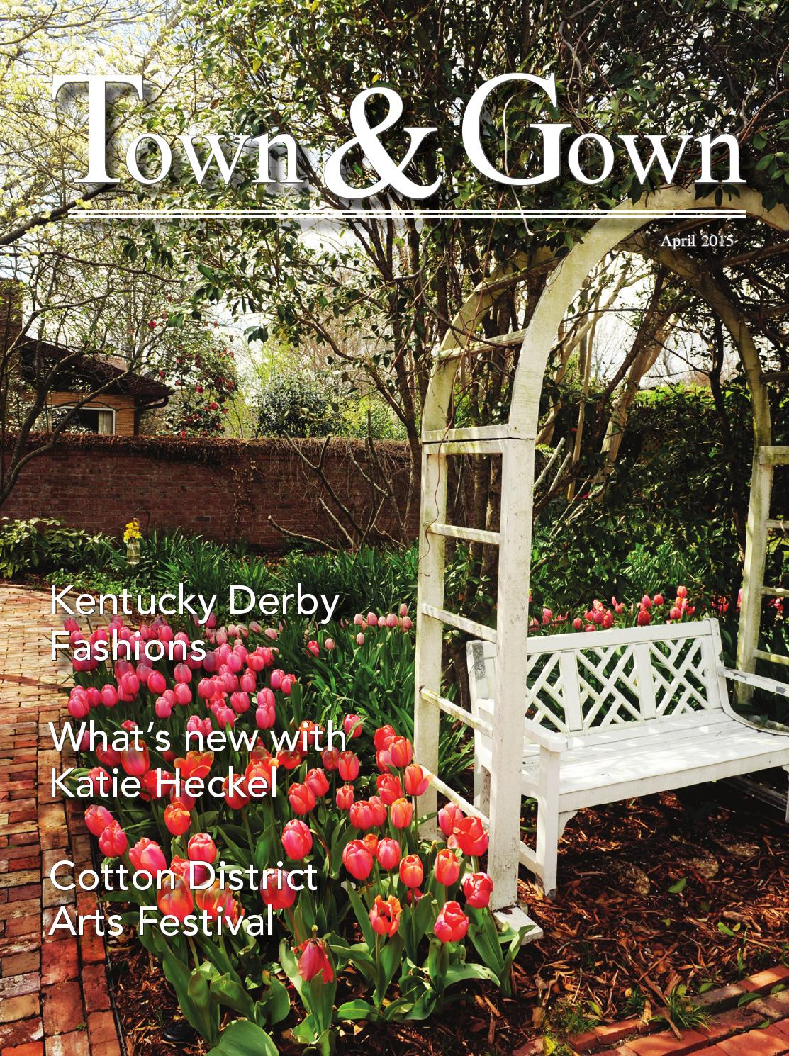 April 2015 by Town and Gown Magazine - issuu