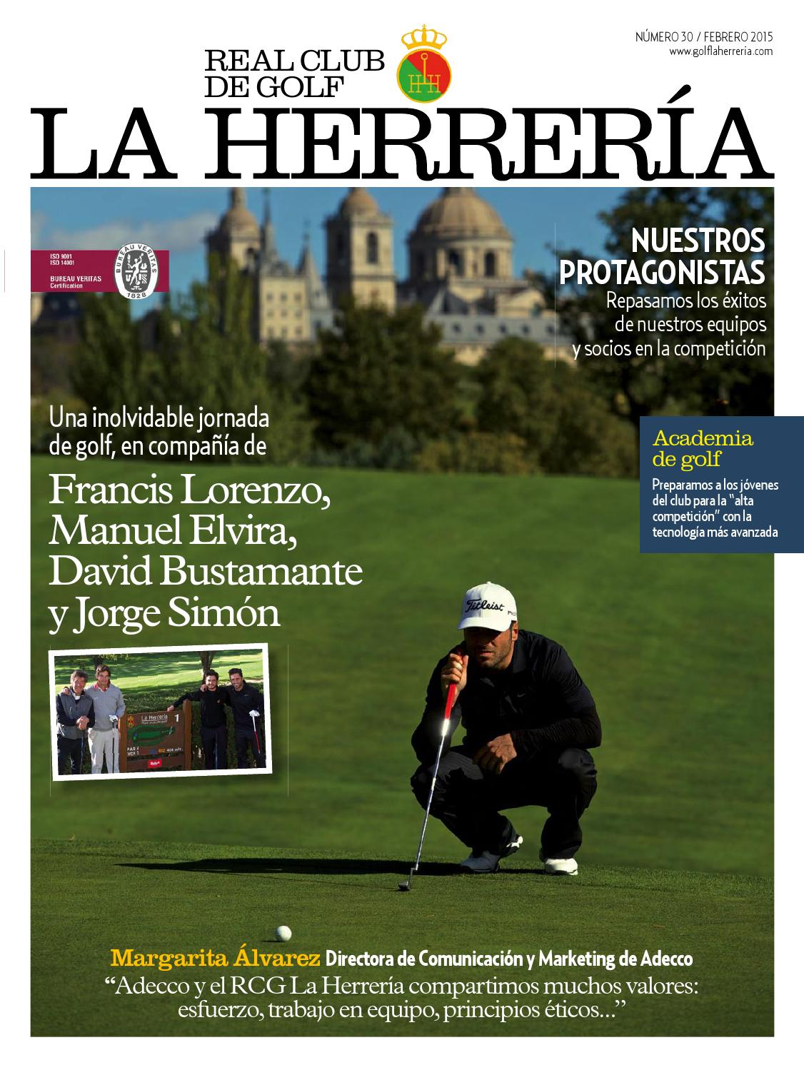 Revista Oficial Real Club de Golf La Herrería #30 by Real Club de ...