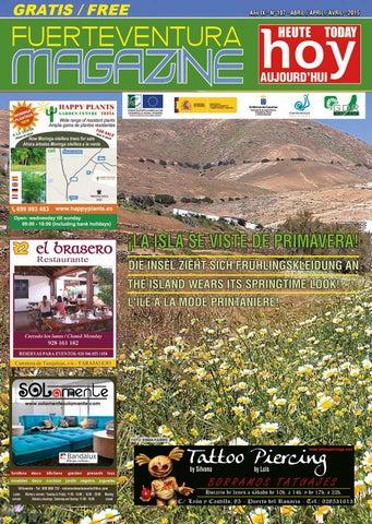 Fuerteventura Magazine Hoy Nº 107 Abril 2015 By Fuerteventura