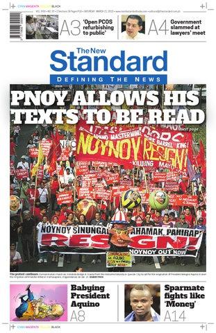 oficjalny sklep sklep internetowy Pierwsze spojrzenie The Standard - 2015 March 21 - Saturday by Manila Standard ...