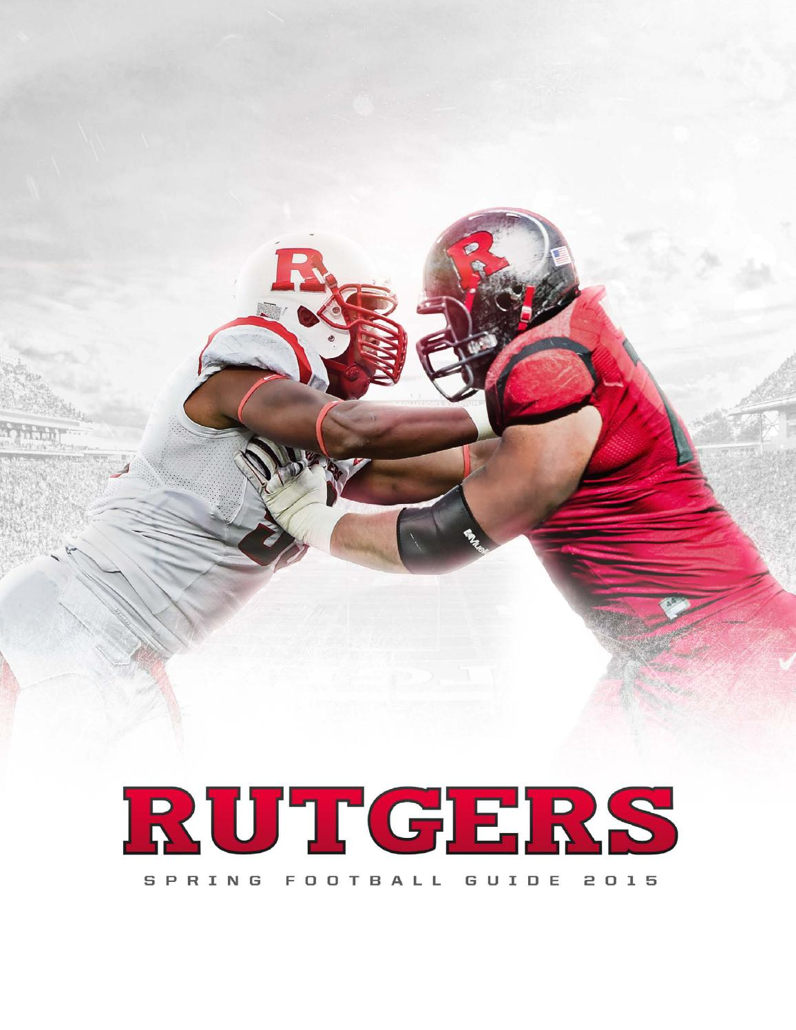 d17983463fb 2015 Rutgers Football Spring Guide by Rutgers Athletics - issuu