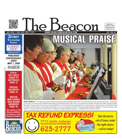 April 1 2015 Coshocton County Beacon By The