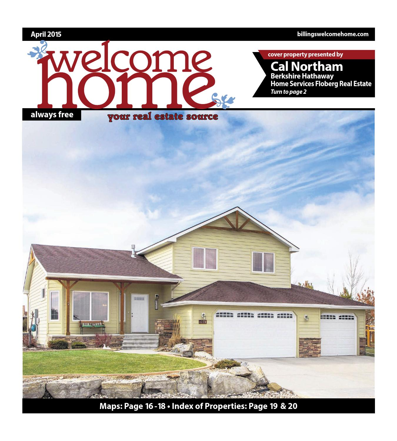 Welcome Home By Billings Gazette Issuu