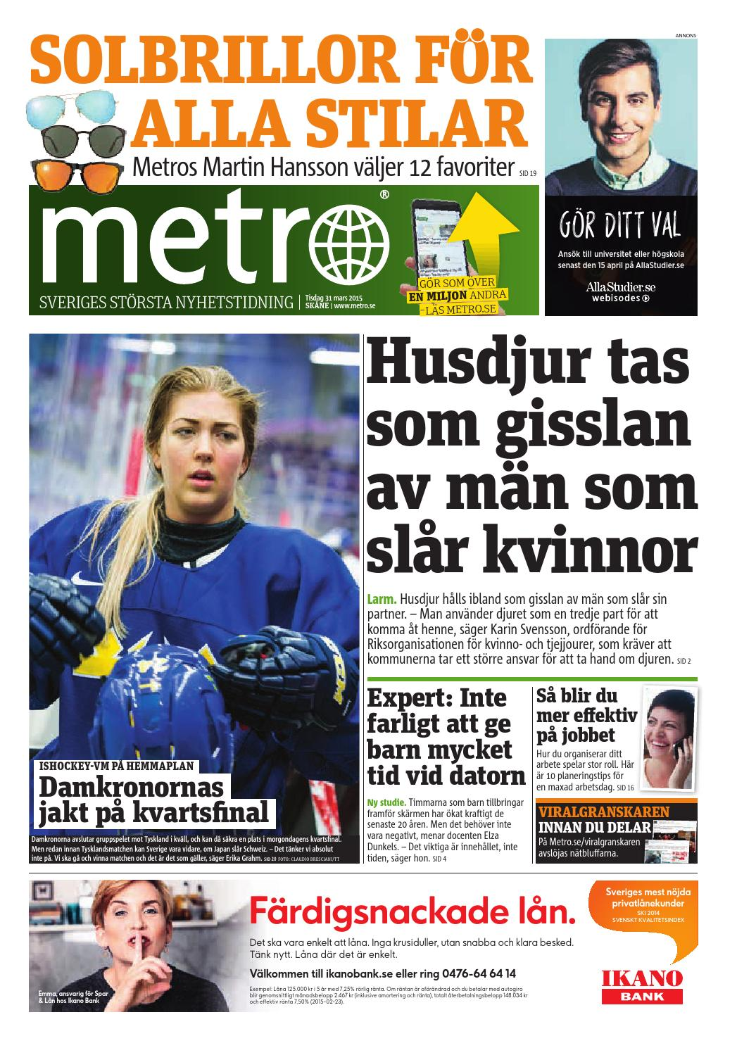 20150331 se malmo by Metro Sweden - issuu fc220f83d07c9