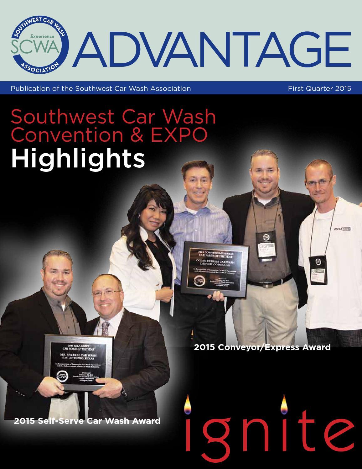 Southwest car wash association advantage first quarter 2015 by southwest car wash association advantage first quarter 2015 by southwest car wash association advantage issuu solutioingenieria Images