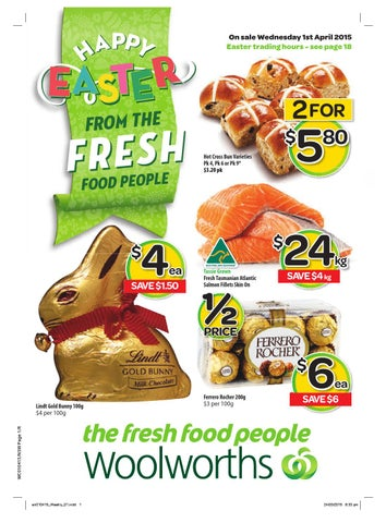 Nsw woolworths 01042015 07042015 by hojunara issuu page 1 negle Image collections