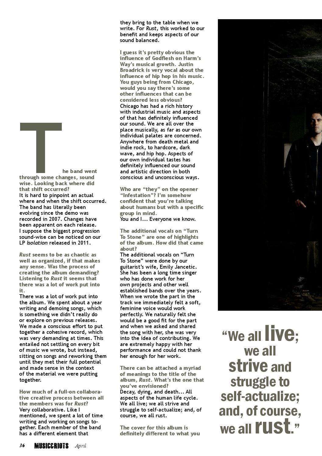9760eed74b MUSIC&RIOTS Magazine 10 by MUSIC&RIOTS Magazine - issuu