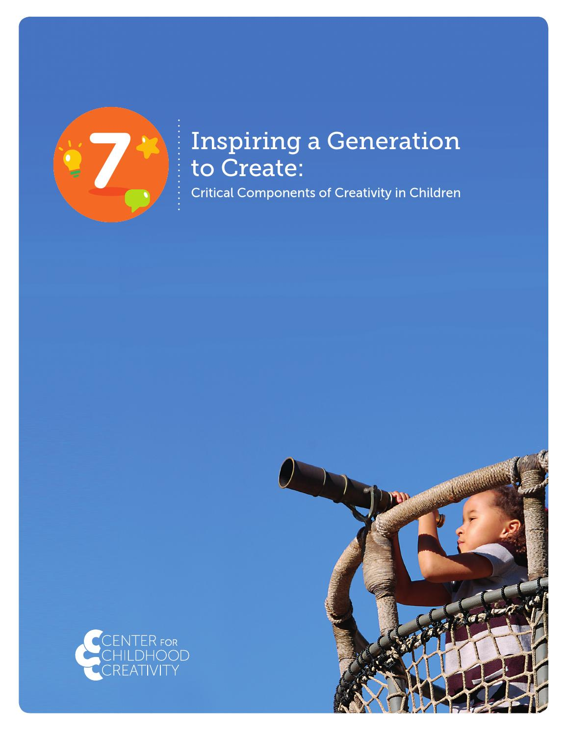 Application - the first steps to the development of the creative abilities of the child