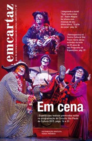 4605f75f1d6b9 Em Cartaz - Março 2015 by Em Cartaz - Revista da Secretaria ...