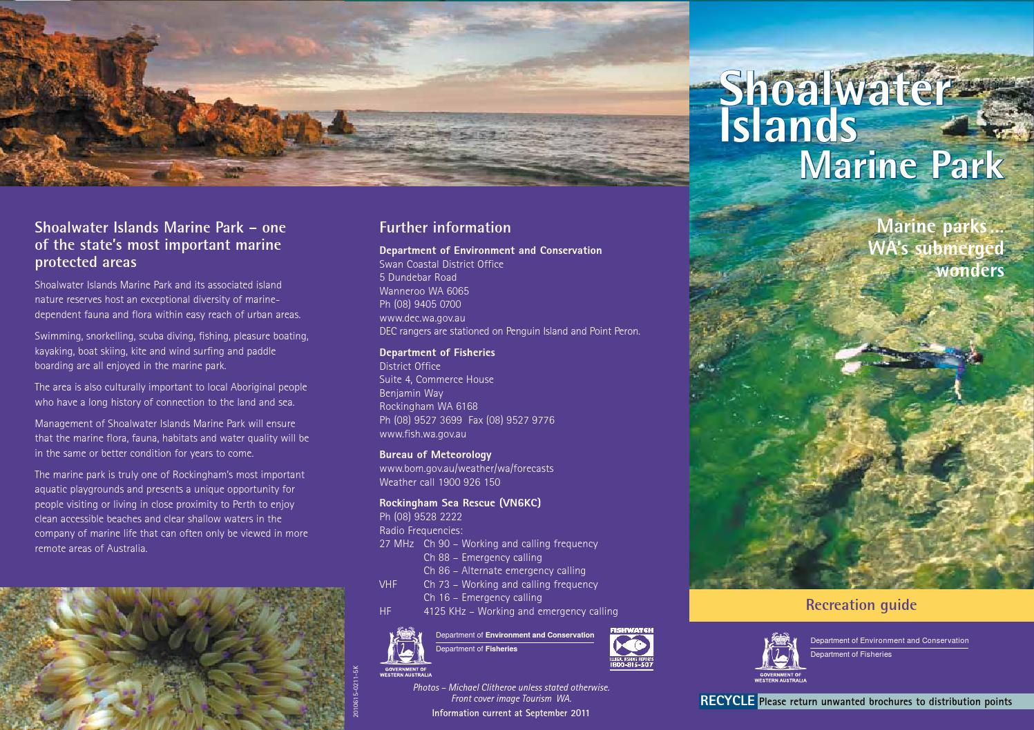 Shoalwater Islands Marine Park, Perth, Western Australia  by