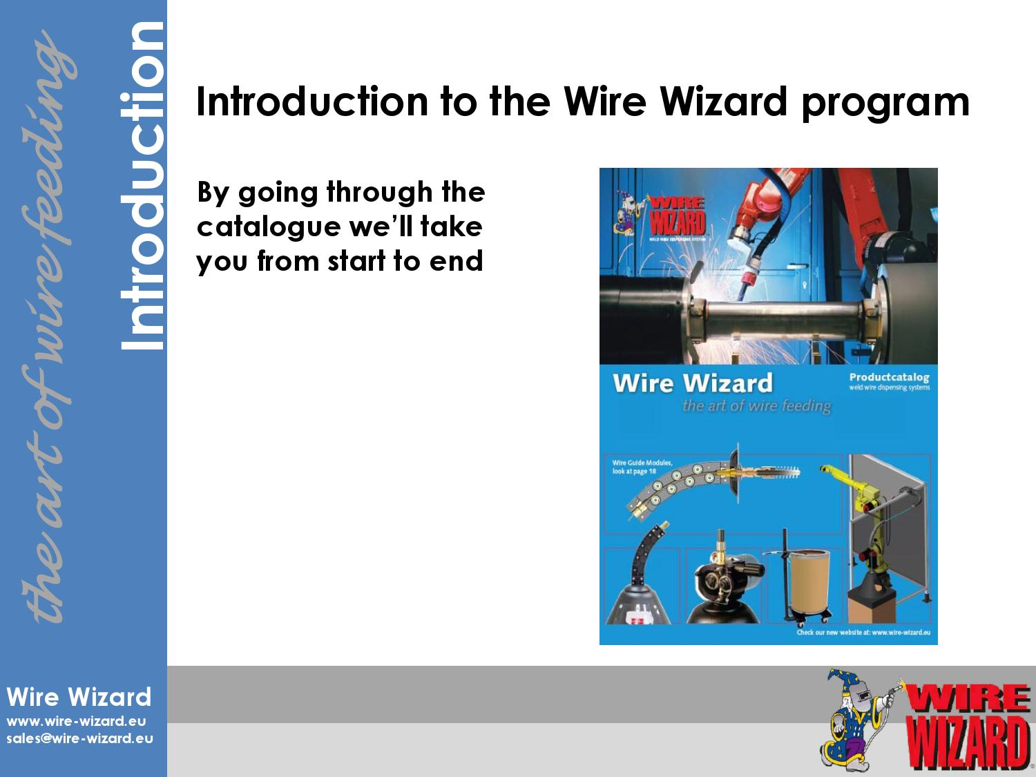 Wire Wizard Presentation by Valk Welding B.V. - issuu