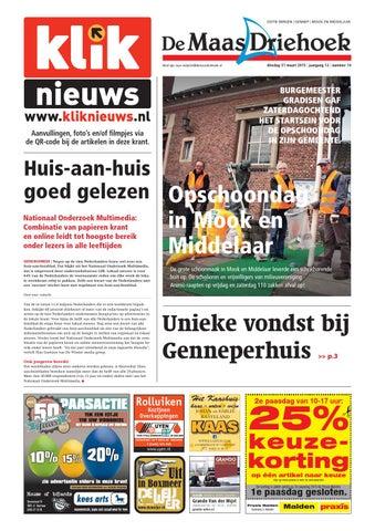 Nieuwsblad De Maas Driehoek ed sg week 14 2015 by Uitgeverij Talvi ... 0ed7558ea
