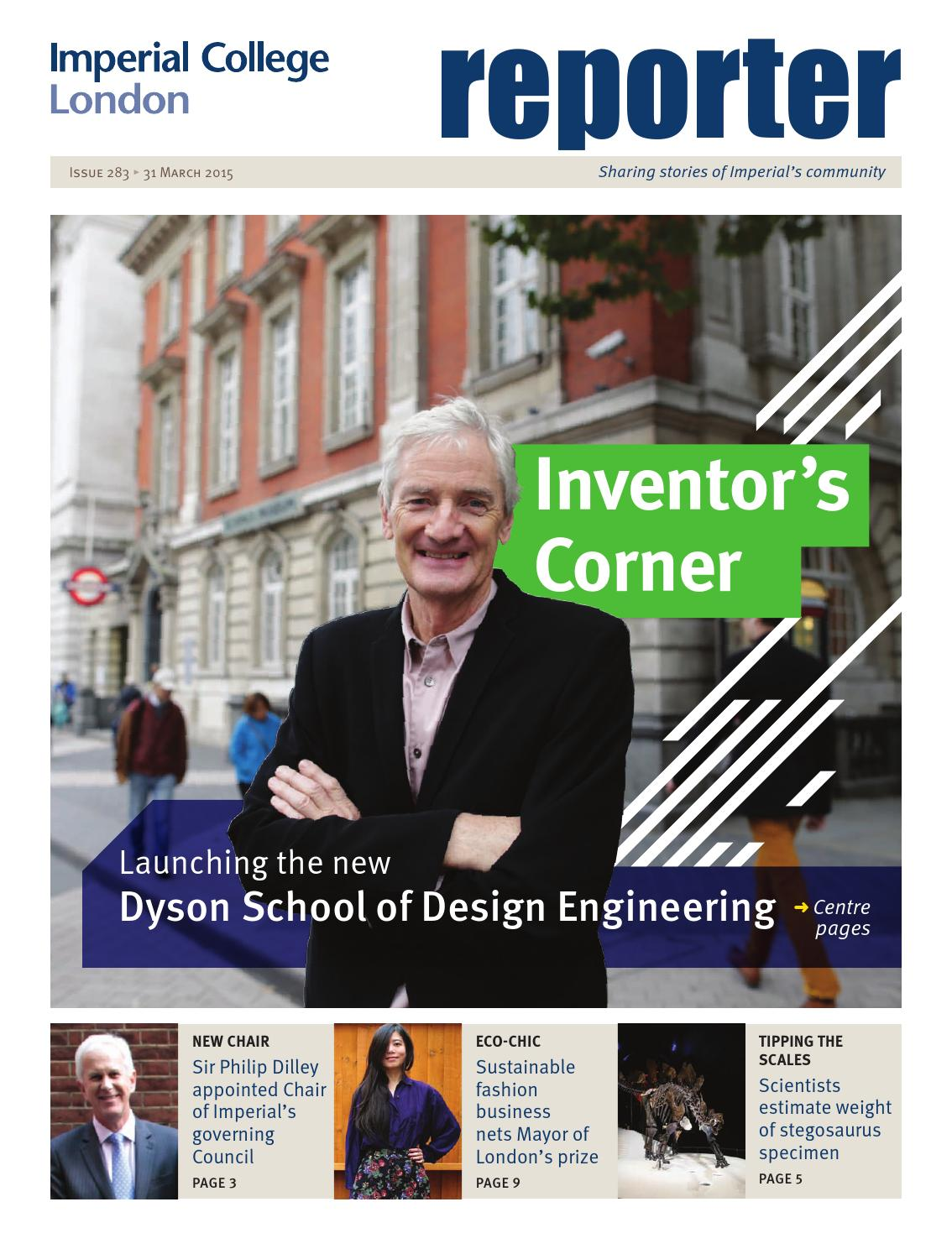 Reporter Issue 283 30 March 2015 By Imperial College London Issuu