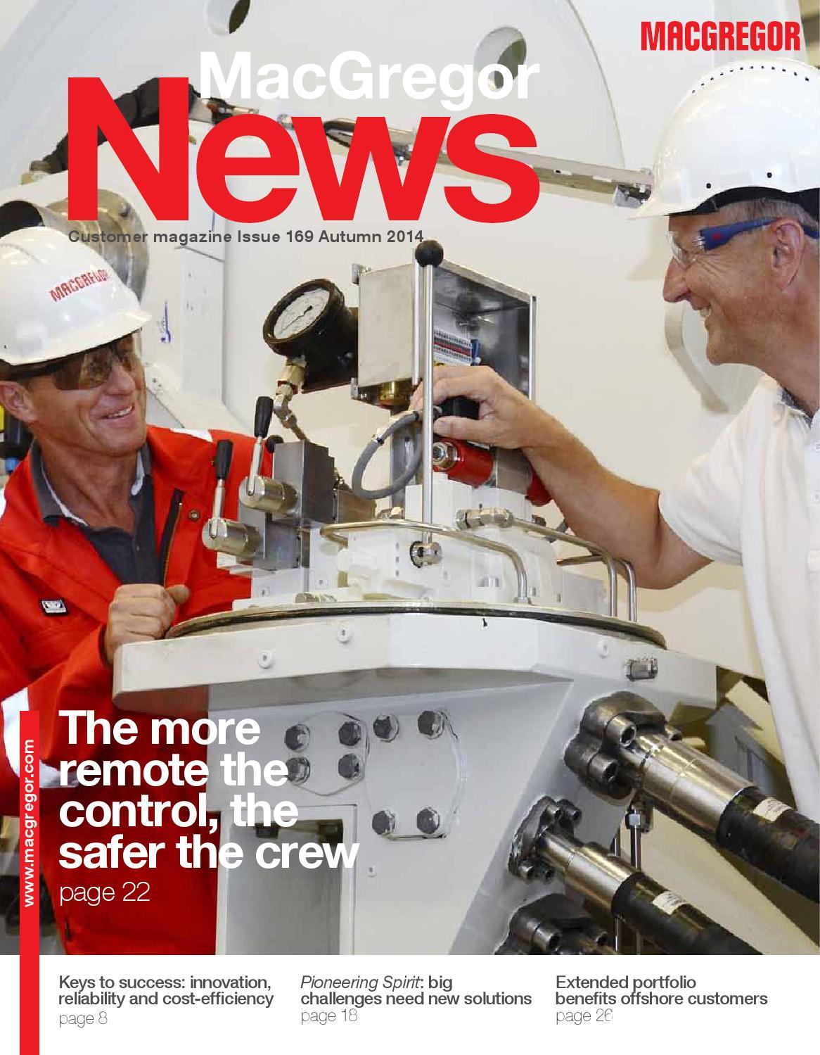 MacGregorNews169 autumn2014 en by Cargotec - issuu