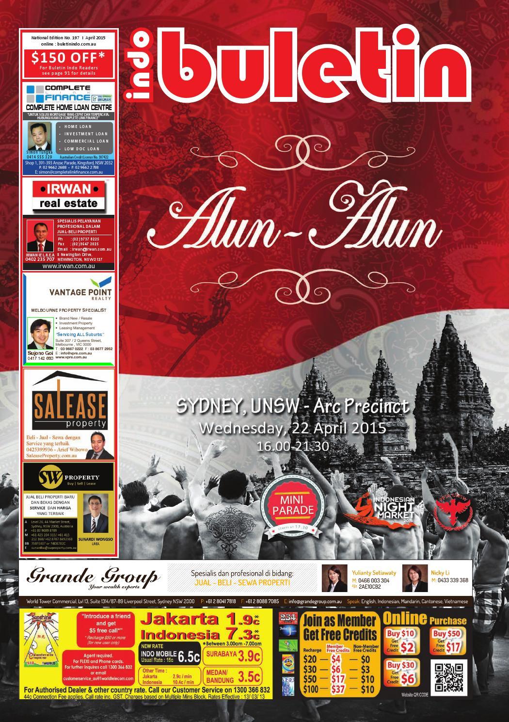 Buletin Indo April 2015 by Buletin Indo issuu