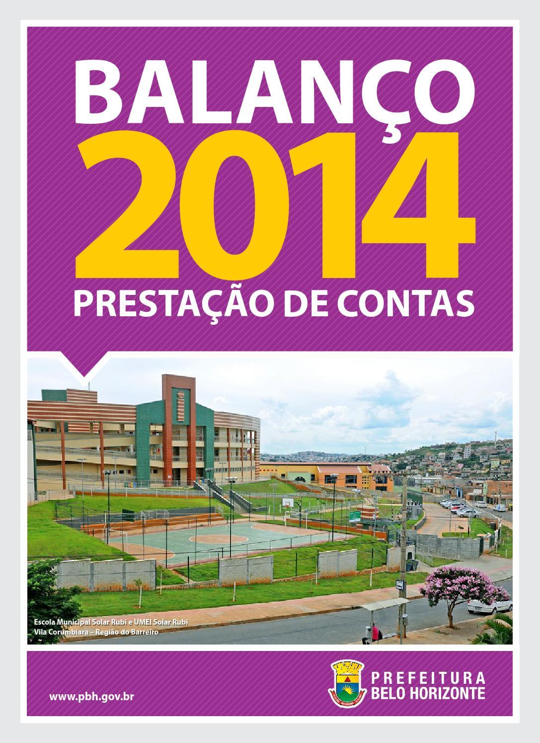 bbcbd4ecc8c Balanço 2014 by PBH Geel - issuu