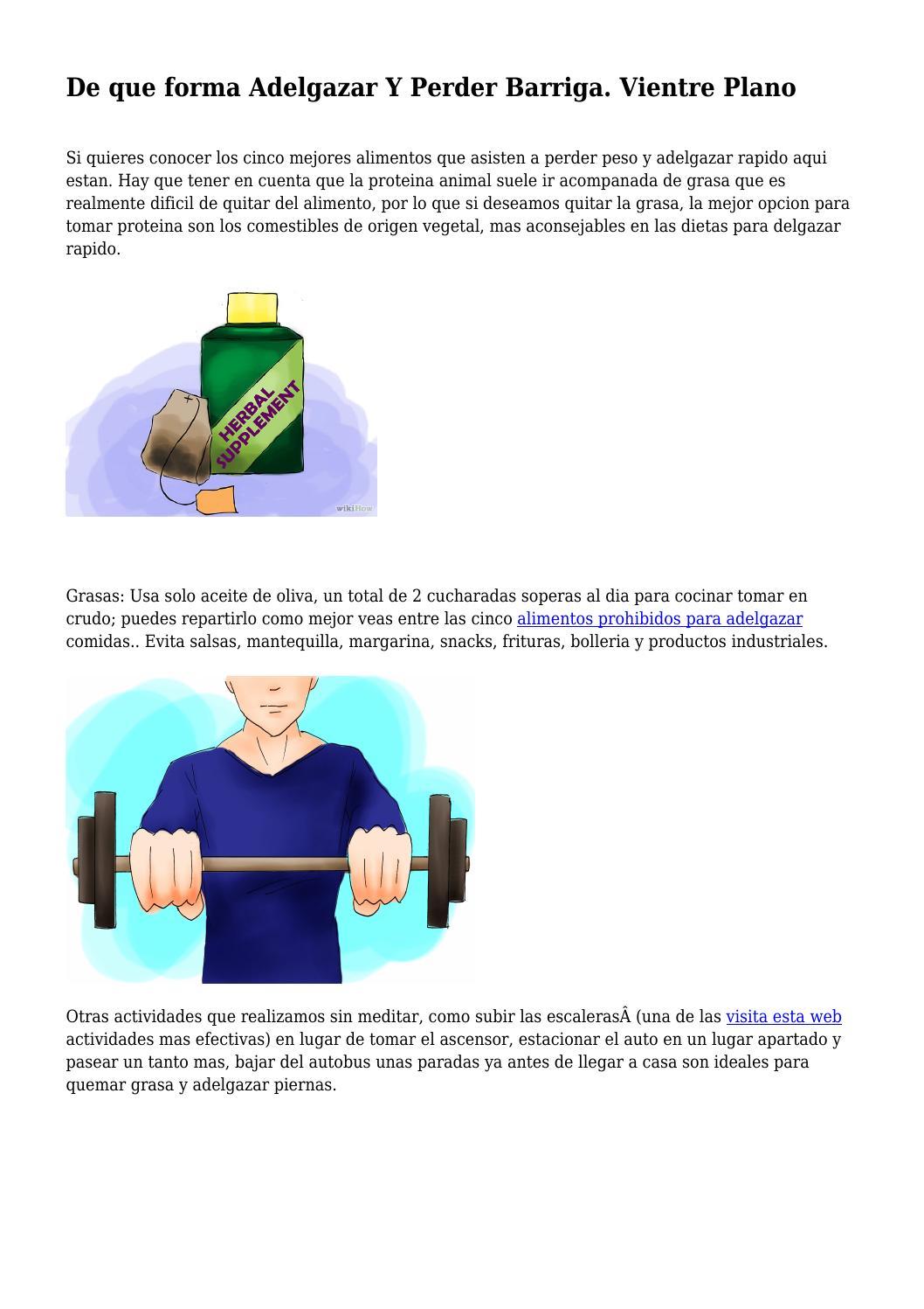 alimentos prohibidos si quieres bajar de peso