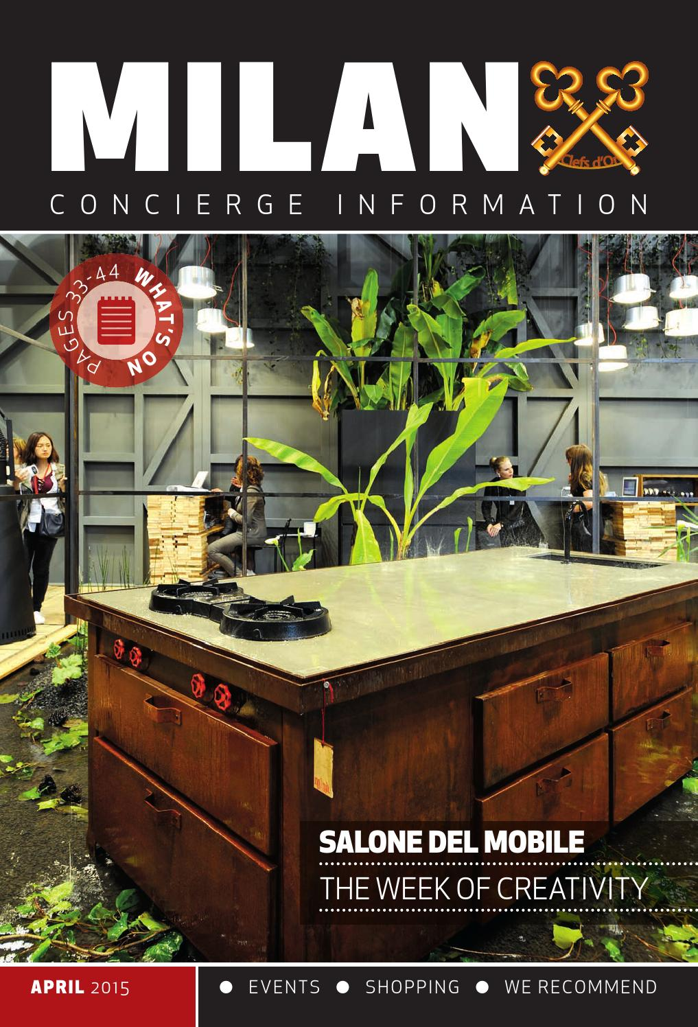 Milano Concierge Aprile 2015 By Alberto Valeri Issuu