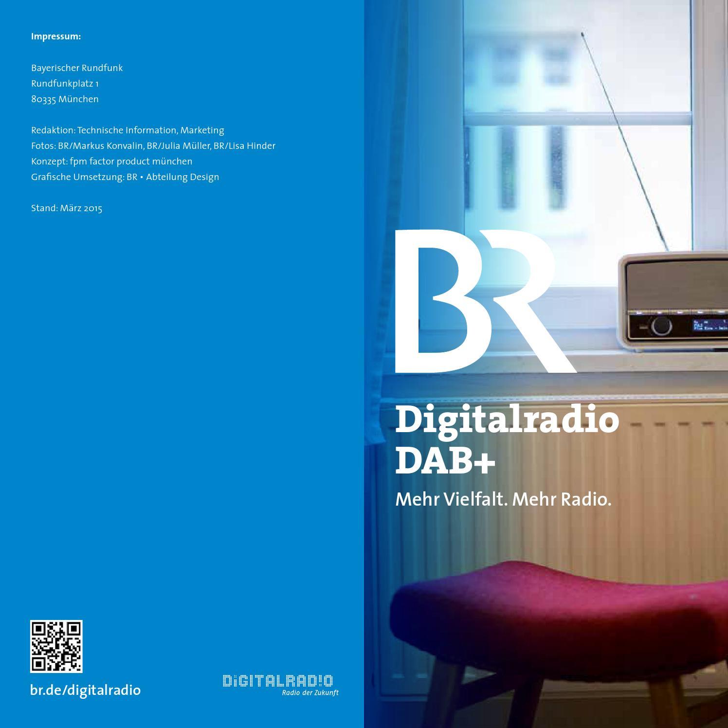 Br Digitalradio Dab By Bayerischer Rundfunk Issuu