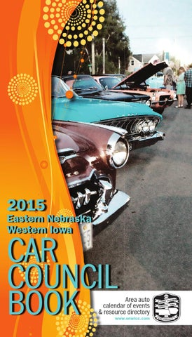 2015 Eastern Nebraska Western Iowa Car Council Book