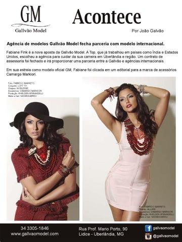 783b436e7 Acontece Por João Galvão Agência de modelos Gallvão Model fecha parceria  com modelo internacional. Fabiane Fink é a nova aposta da Gallvão Model.