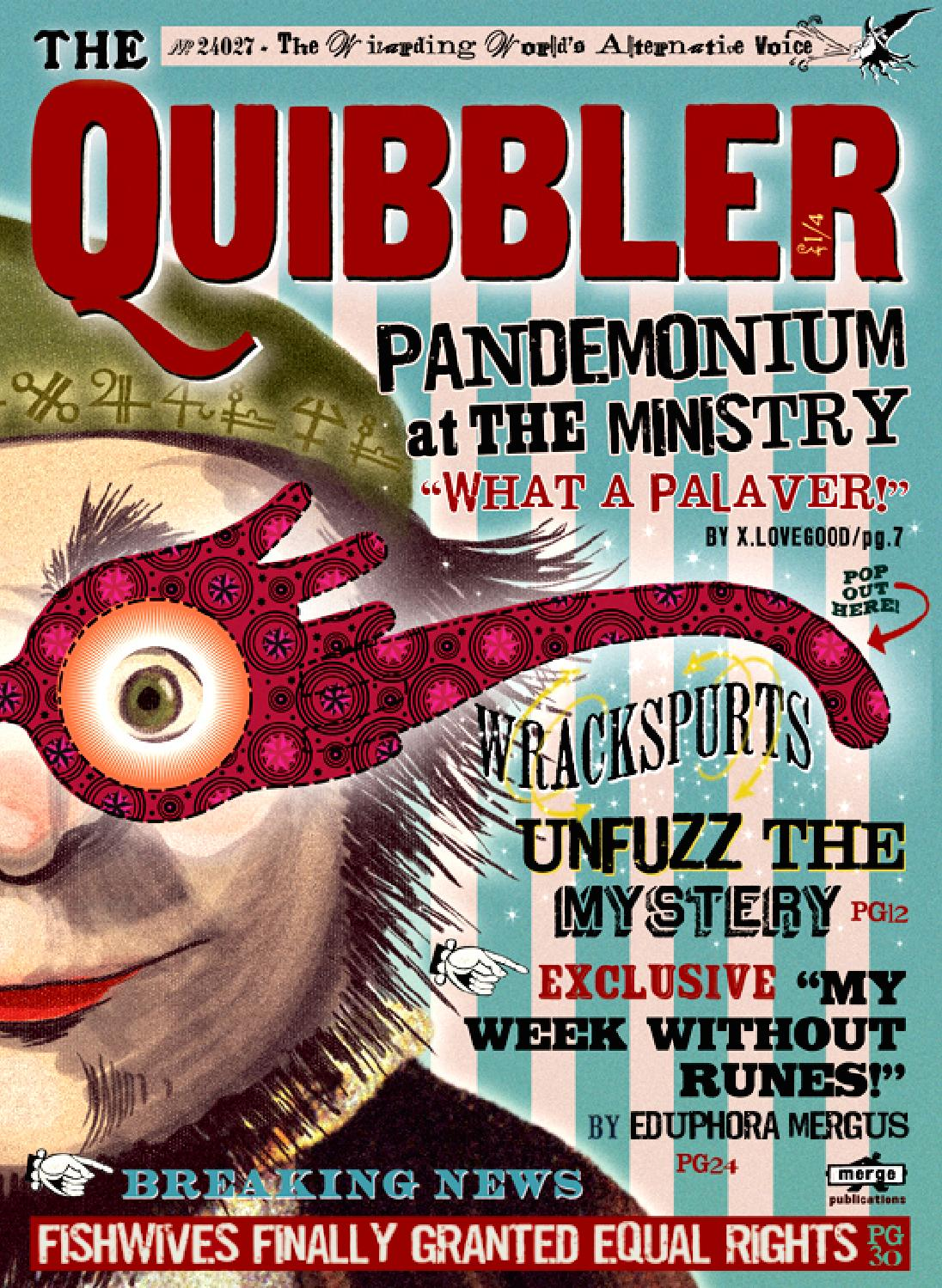 Quibbler finished by Ashlynn Webb - IssuuQuibbler Printable Free