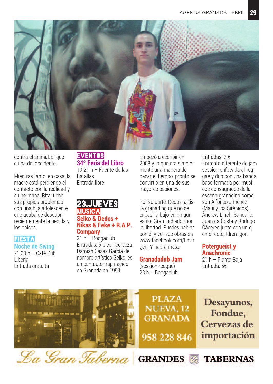 En Granada Cultura Issuu Abr15 Pocketguia By Yf76gby