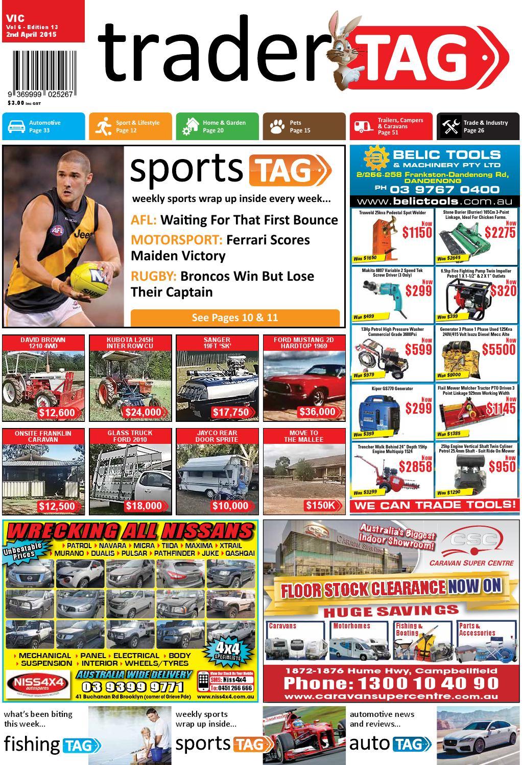 a7244f82b1e80 TraderTAG Victoria - Edition 13 - 2015 by TraderTAG Design - issuu